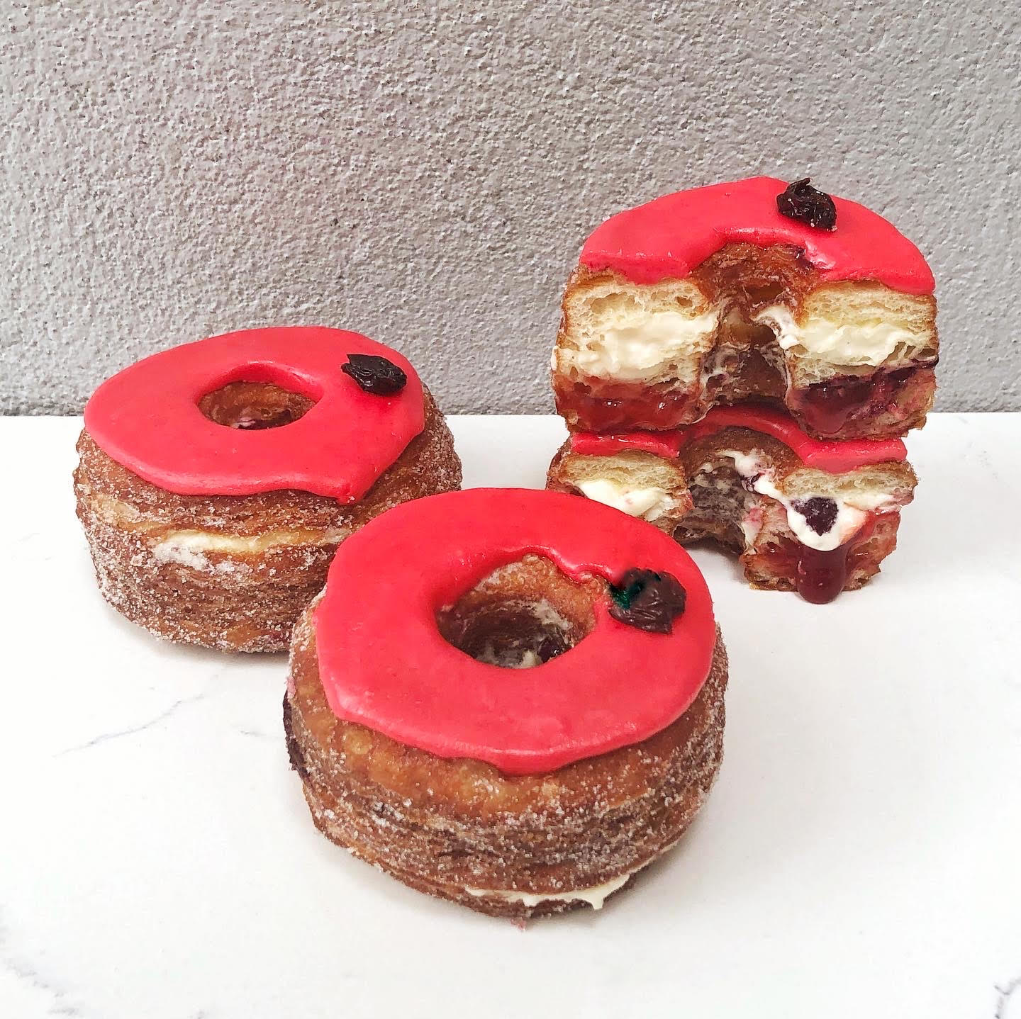 November 2019 NYC Cronut - Cranberry Pear Olive Oil