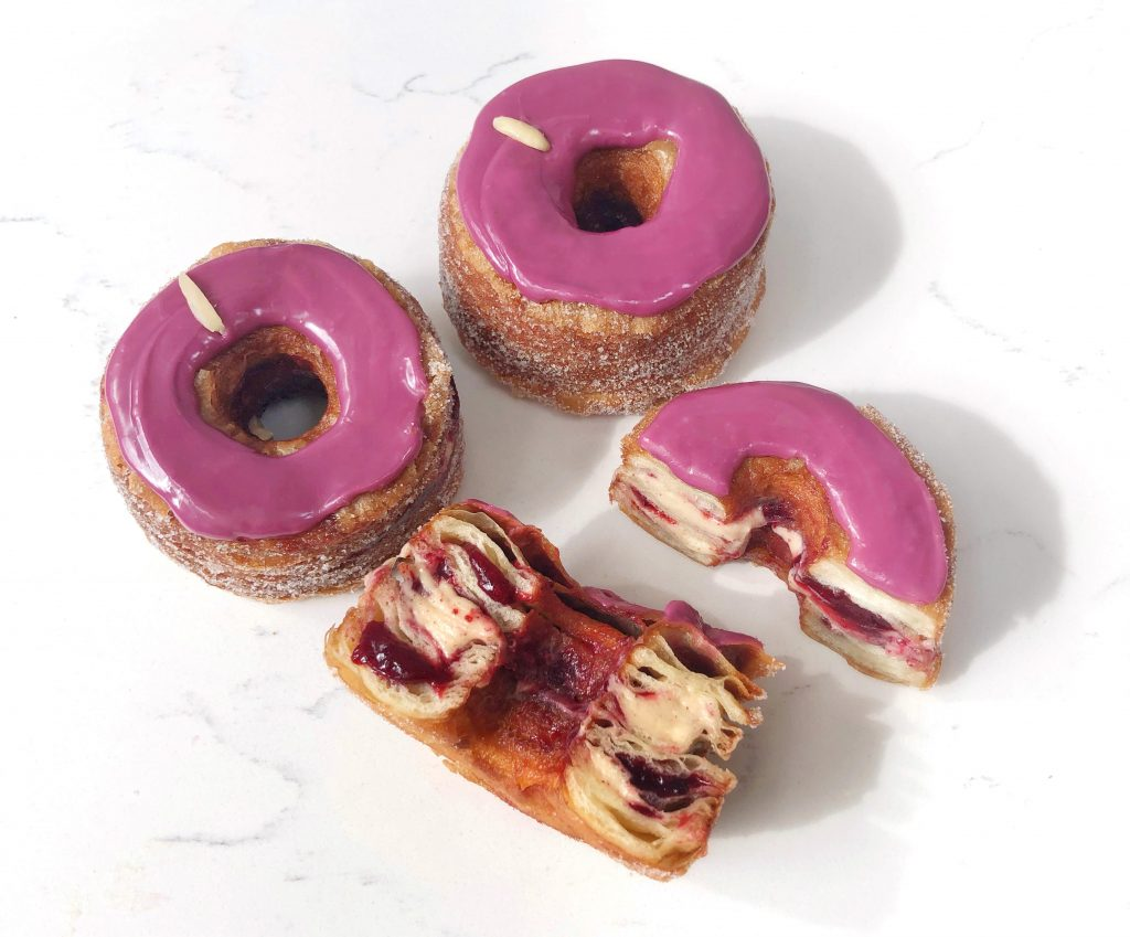 September 2019 Cronut NYC - Red Plum & Toasted Almond