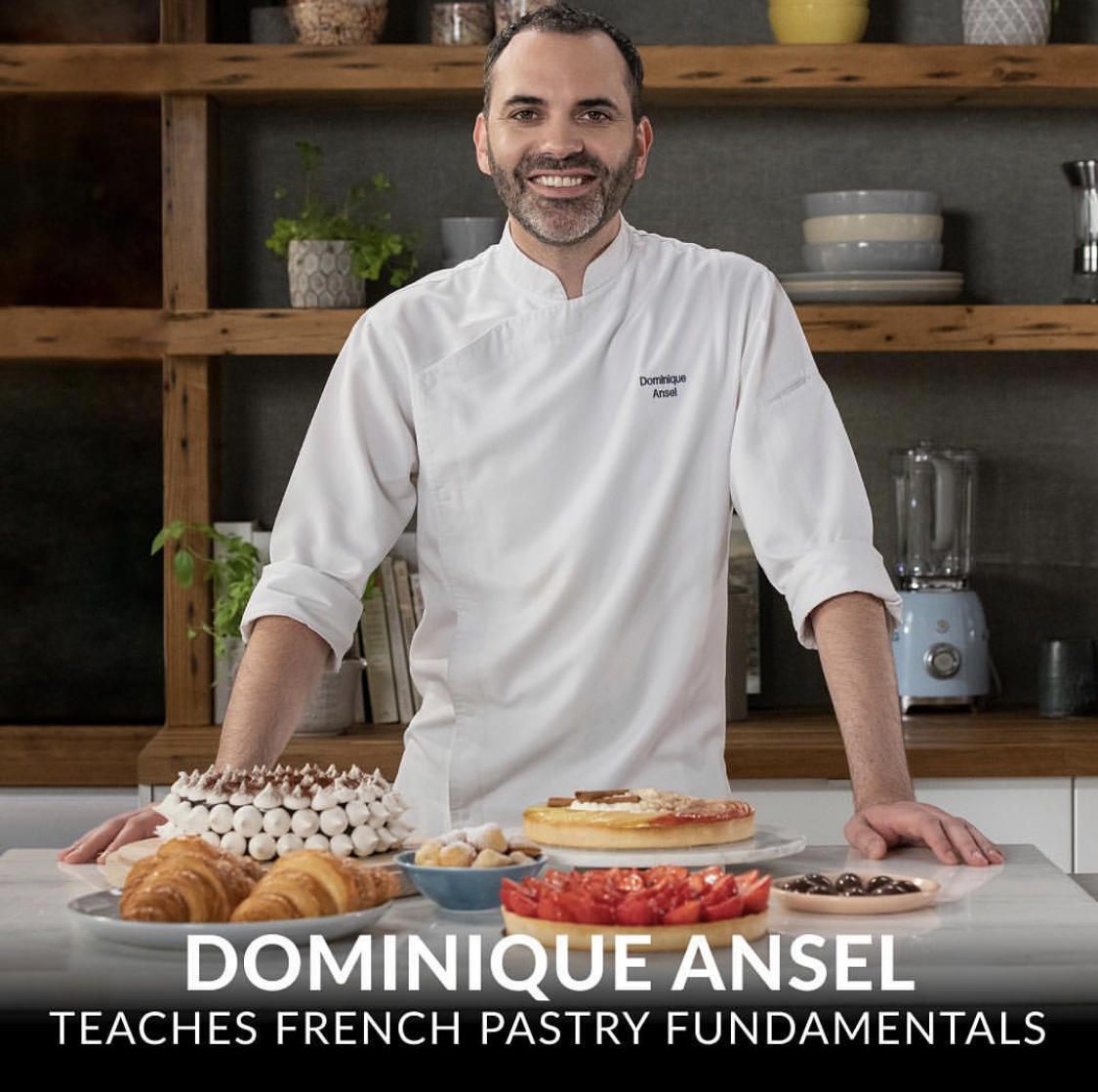 Chef Dominique is the newest MasterClass instructor!