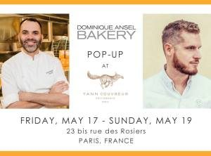 We're heading to Paris for a Pop-Up May 17-19!