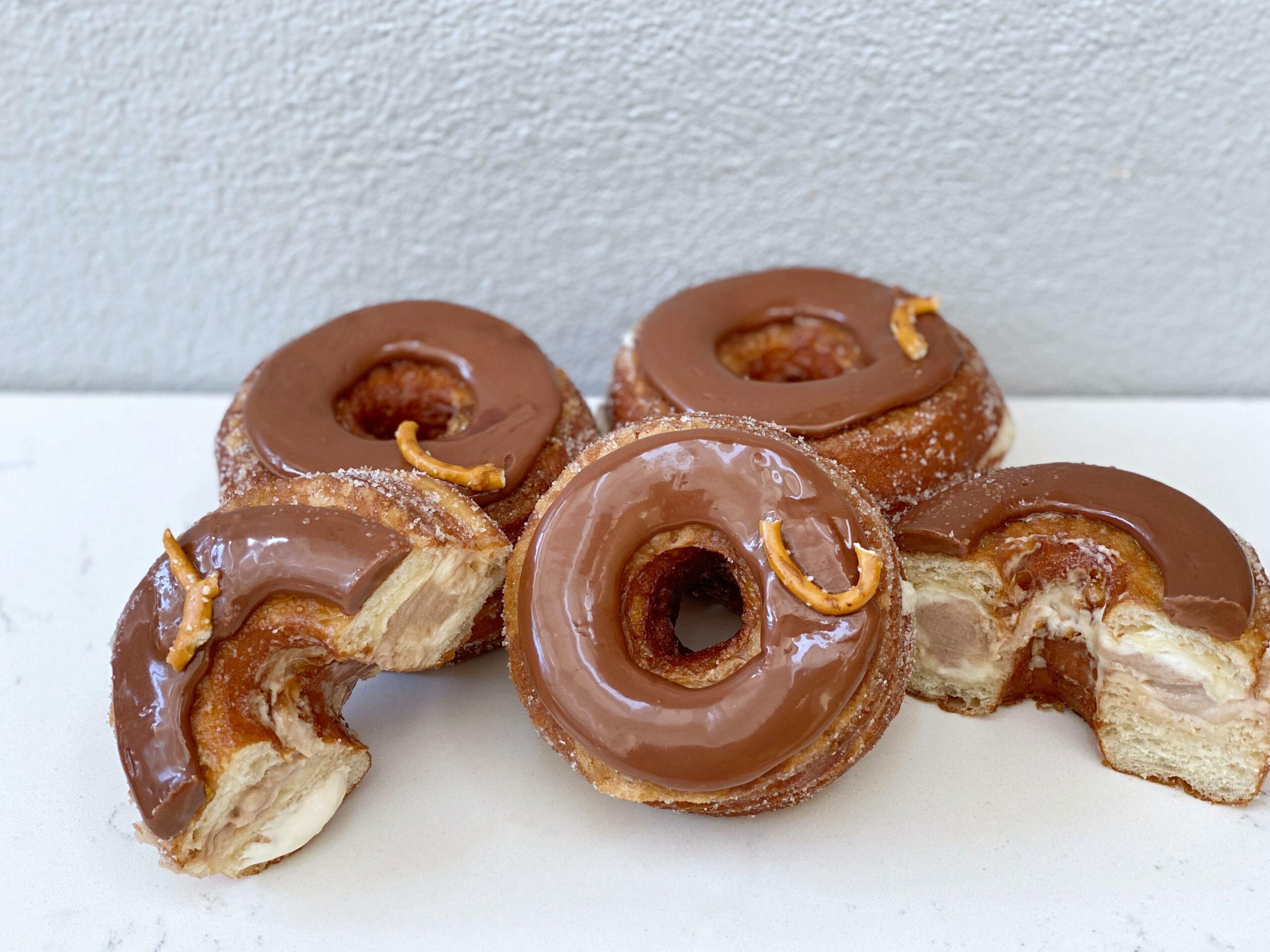 October 2021 Cronut - Salted Pretzel & Milk Chocolate